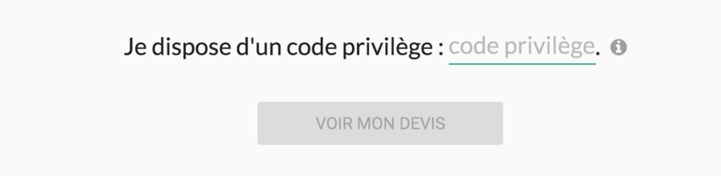 code privilège Otherwise