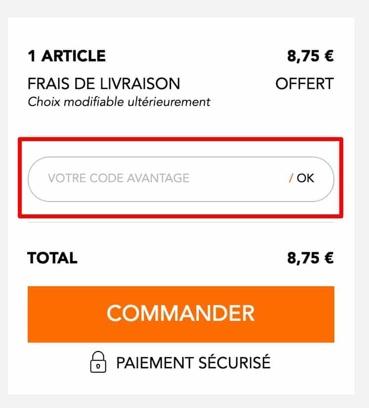 code promo BHV Marais