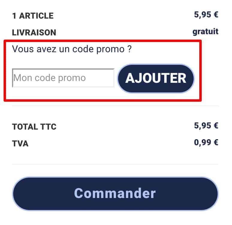 code promo Issu d a cote