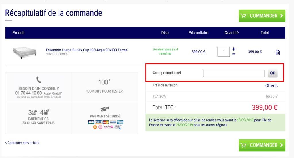 code promo La Compagnie du Lit