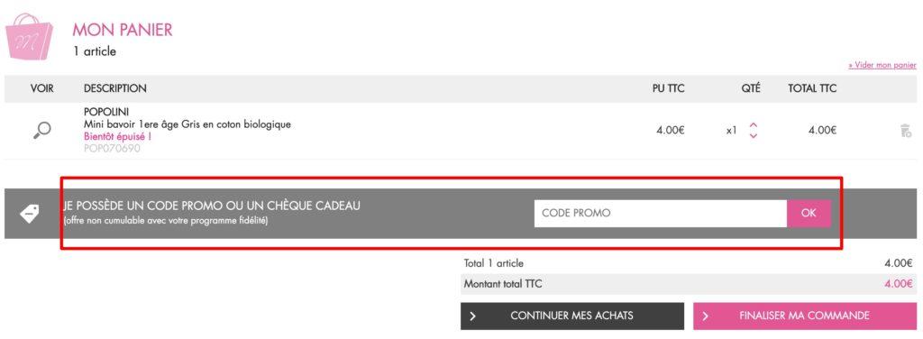 code promo MondeBio