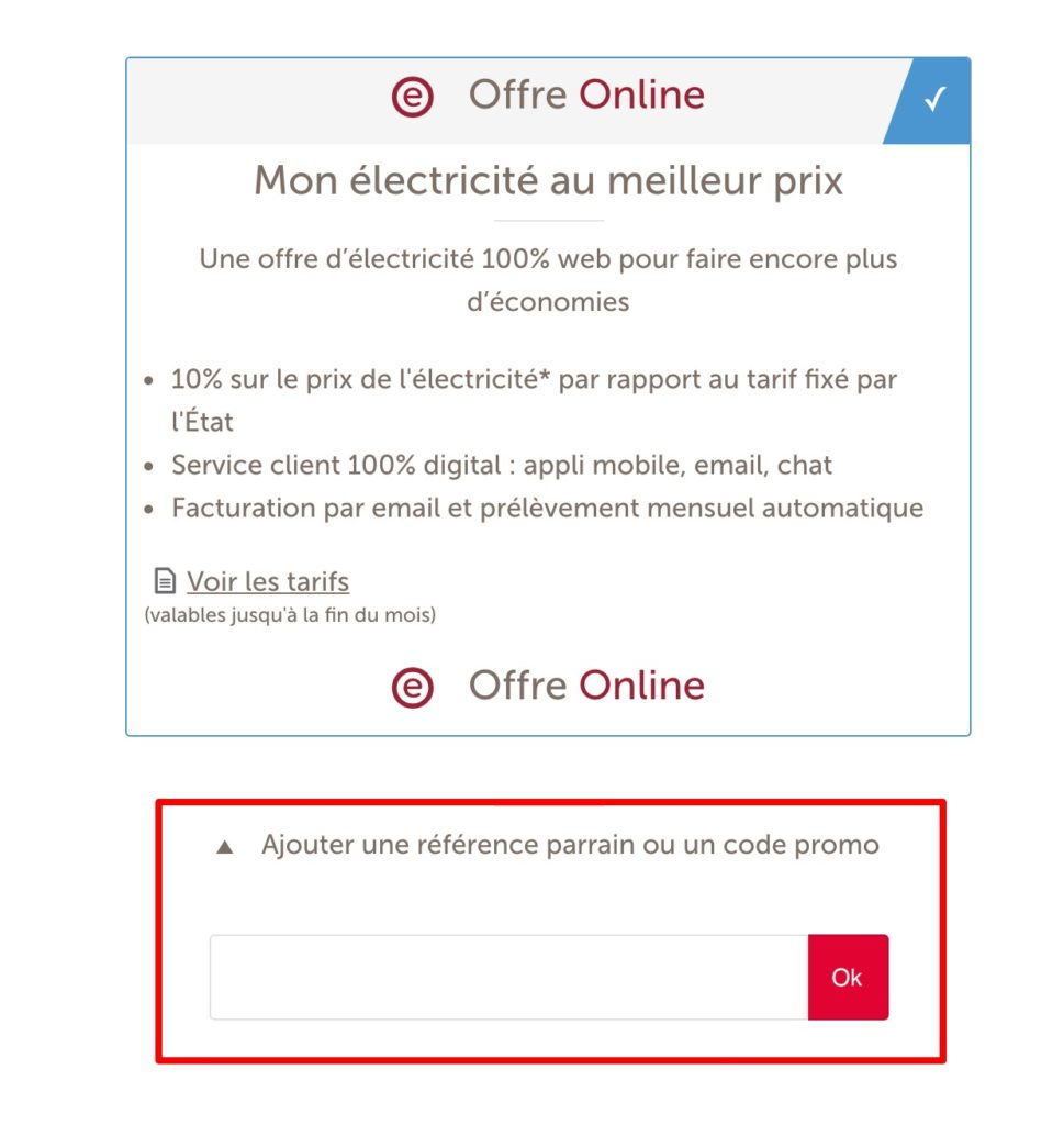 code promo Total Direct Energie