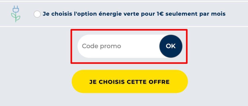 code promo ohm energie
