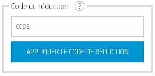 code promo HP